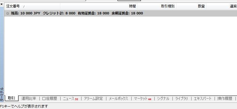 XMに1万円入金後のボーナスと残高