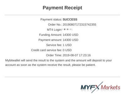 Myfx MarketsBitwallet入金方法5
